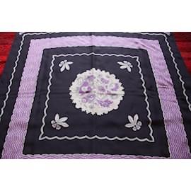 Chloé-Silk scarves-Black