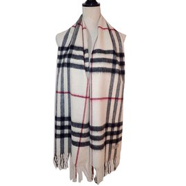 Burberry-Scarves-Eggshell