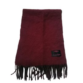 Emanuel Ungaro-Men Scarves-Grey,Dark red