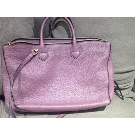 Burberry-Handbags-Purple