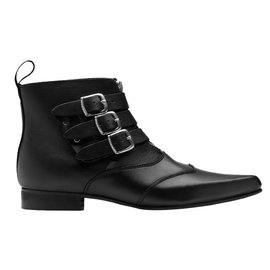 Underground-Ankle Boots-Black