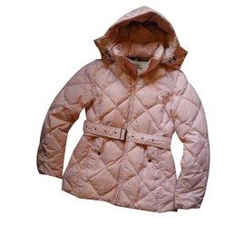 Burberry-Coats, Outerwear-Pink