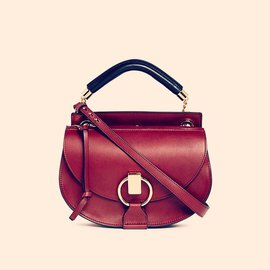 Chloé-Handbags-Red,Dark red