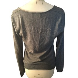 Zadig & Voltaire-Pull gris ART IS TRUTH-Gris
