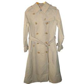 Burberry-Coats-Beige