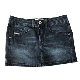 Diesel-Skirts-Blue
