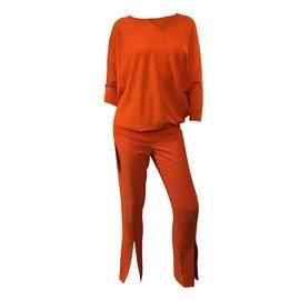 Alexander Mcqueen-Jumpsuits-Orange