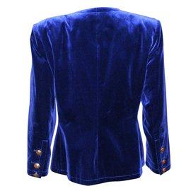 Yves Saint Laurent-Veste-Bleu Marine