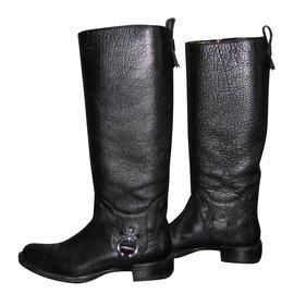 Céline-Boots-Black