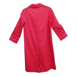 Burberry-Burberry raincoat-Red