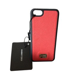 Dolce & Gabbana-Bijoux de portable iPhone 5/5S-Rouge
