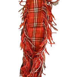 Burberry-Scarves-Orange