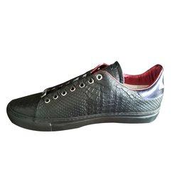 Roberto Cavalli-Sneakers-Black
