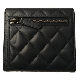 Chanel-Wallets-Black,Navy blue