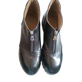 Emporio Armani-Ankle Boots-Black