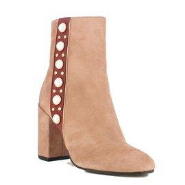 Jonak-Cherry Ankle Boots-Peach