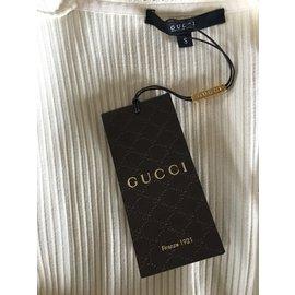 Gucci-Cardigan Gucci-Blanc cassé