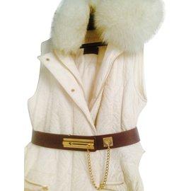 Chanel-Vintage Chanel belt-Cognac