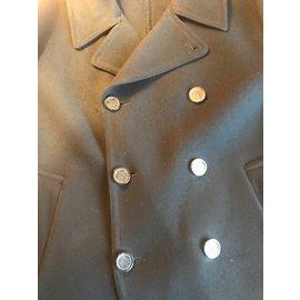 Hermès-Men Coat-Black