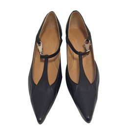 Hermès-Pumps-Black