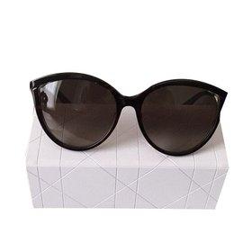 Dior-Lunettes de soleil-Marron
