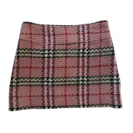 Burberry-Skirts-Pink