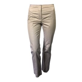 Louis Vuitton-Pantalon cigarette Louis Vuitton-Beige