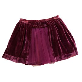Repetto-Skirts-Dark red