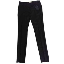 Saint Laurent-Pantalon-Noir