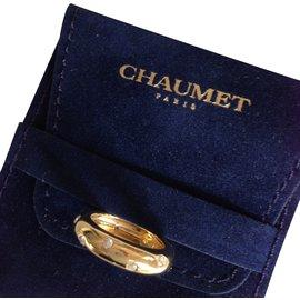 Chaumet-Bague Semis-Doré