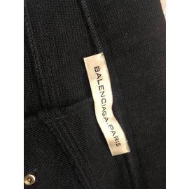 Balenciaga-Pantalon-gris anthracite