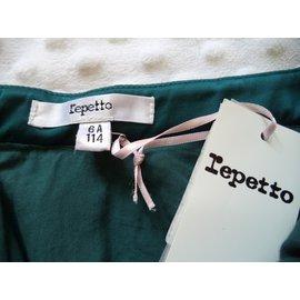 Repetto-JUPE COURTE-Vert