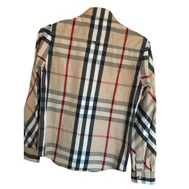 Burberry-Tops garçon-Multicolore