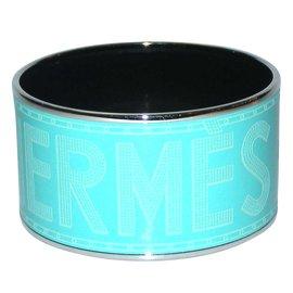 3dcb620e9b0a Hermès-Bracelet jonc large taille X-Vert ...