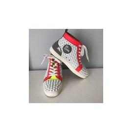Christian Louboutin-Sneakers-White