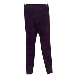 Stouls-Pants, leggings-Dark brown