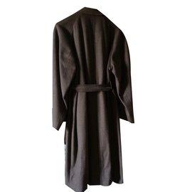 inconnue-Men Coats Outerwear-Caramel