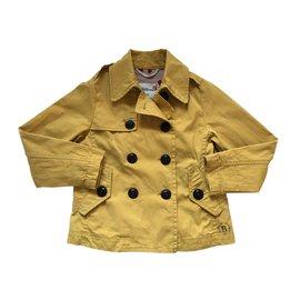 Bellerose-Blousons, manteaux filles-Jaune