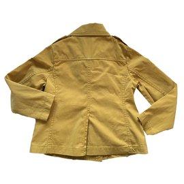 Bellerose-Girl Coats outerwear-Yellow