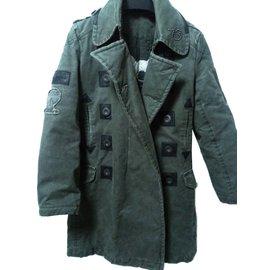 Pepe Jeans-Men Coats Outerwear-Grey