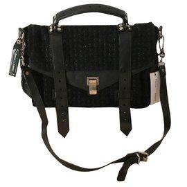 Proenza Schouler-Handbags-Black