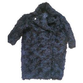 & Other Stories-Overzise coat-Black