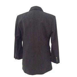 Gucci-Tailleur pantalon-Gris anthracite