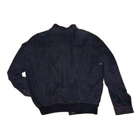 Ermenegildo Zegna-Blazers Jackets-Dark grey