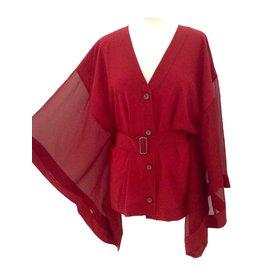 Hermès-Tops-Red
