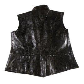 Chanel-Veste automne hiver 2003-Noir