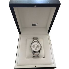 Montblanc-MONTBLANC TIMEWALKER XXL AUTOMATISCH-Silber