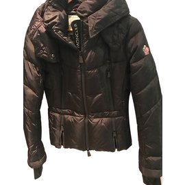 Moncler-Moncler ski jacket in size 1-Black
