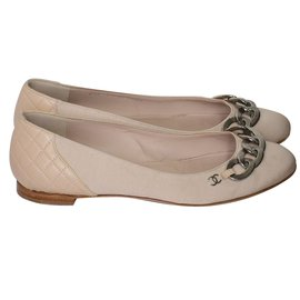 Chanel-Ballerines Chanel-Rose