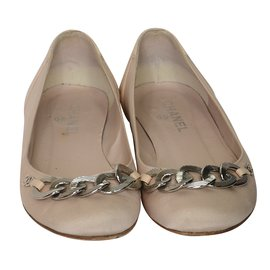 Chanel-Ballet flats-Pink